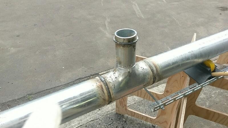 屋外連結送水耐圧配管 更新工事