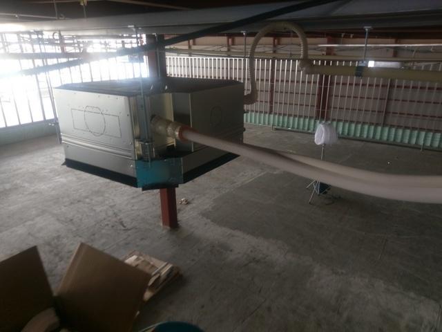 店舗空調設備工事