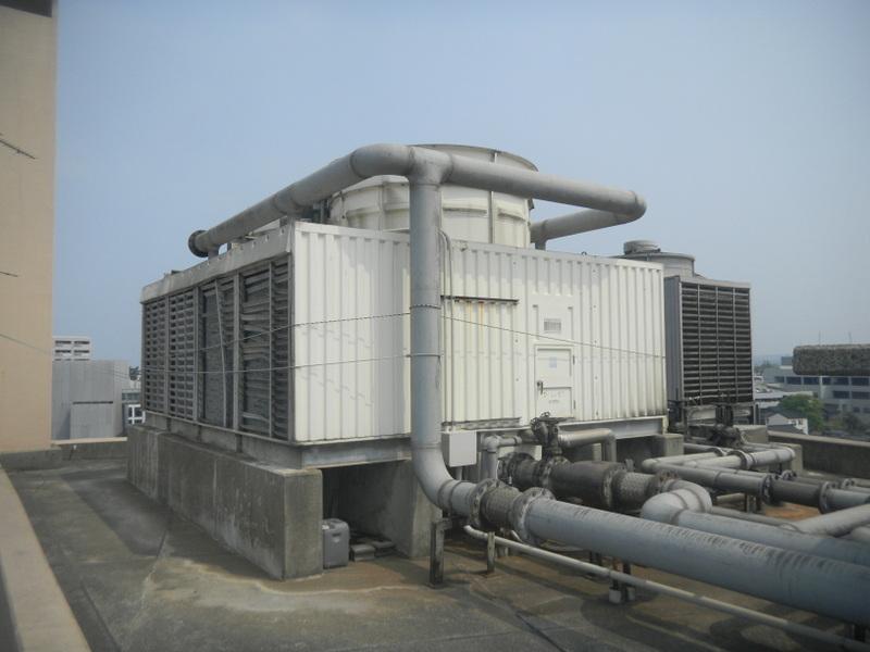 冷却塔更新工事 550RT