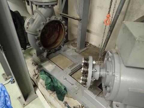 ポンプの分解整備 200*150 75Kw